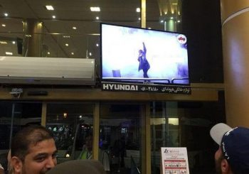 هک شدن تابلو ها و تلویزیون های تبلیغاتی